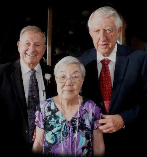 Left to right:  Dean White, Chieko Crain, Herman Meinders