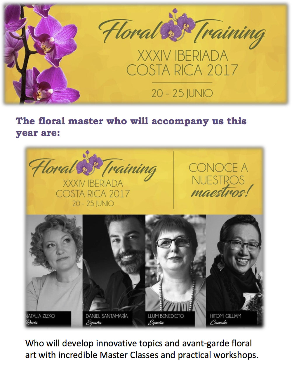 Floral Training - XXXIV Iberiada Costa Rica 2017 (English) 3.jpg