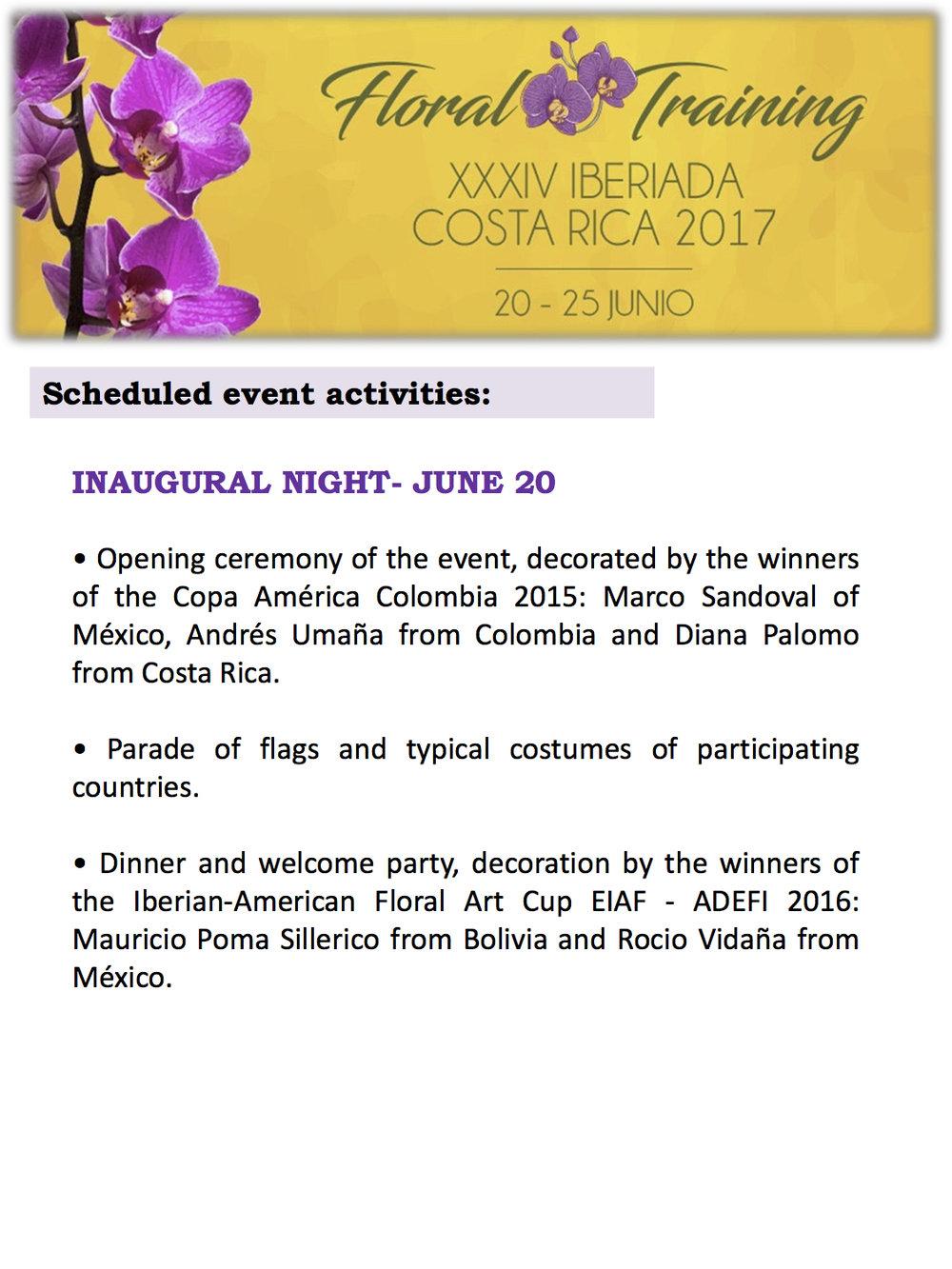 Floral Training - XXXIV Iberiada Costa Rica 2017 (English) 6.jpg