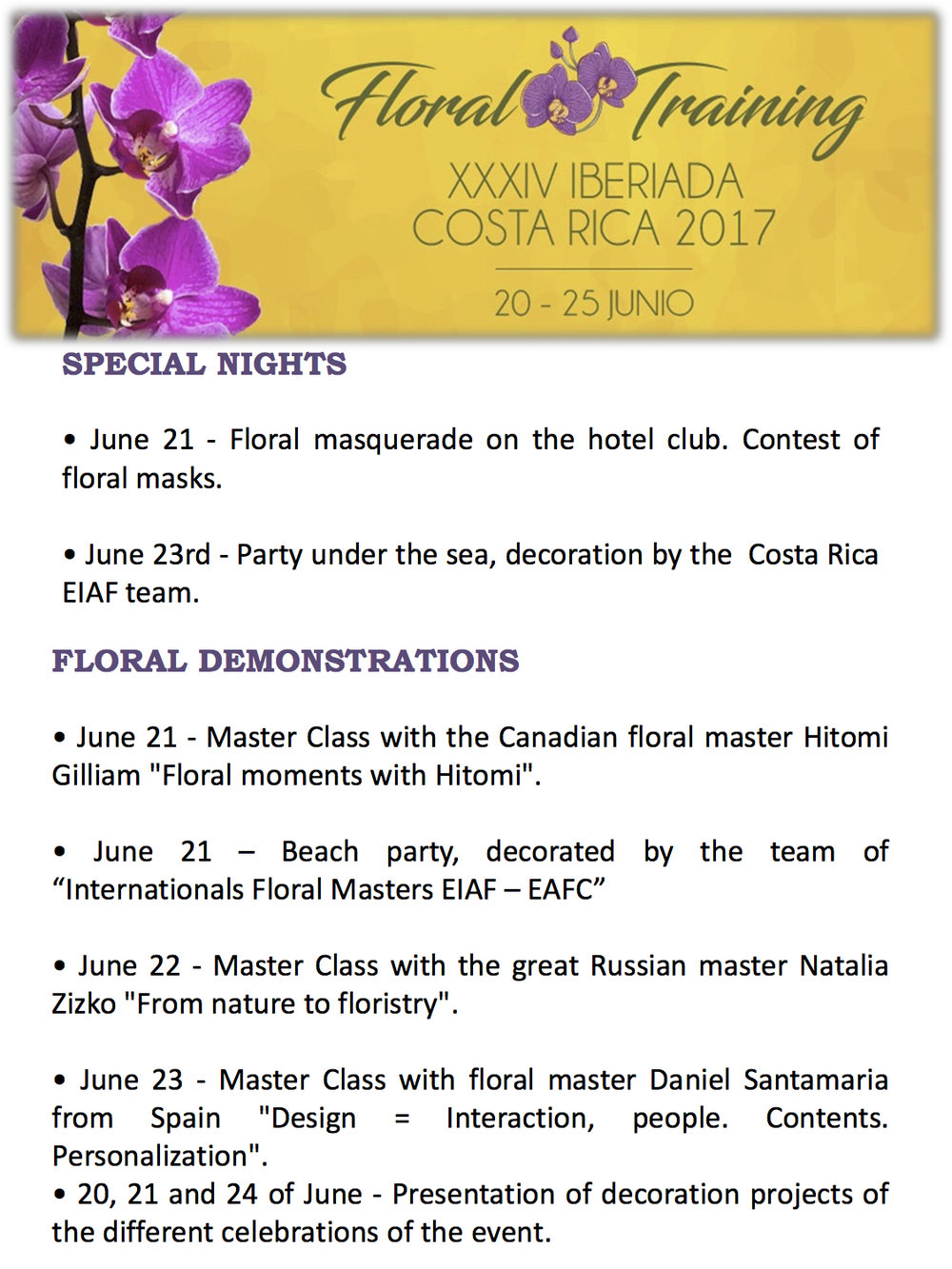 Floral Training - XXXIV Iberiada Costa Rica 2017 (English) 7.jpg