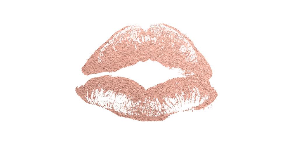 Rebecca Allen | Rose Gold Lips