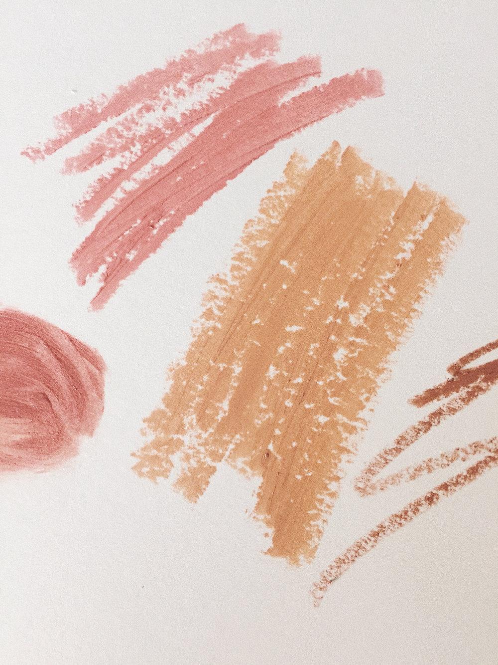Makeup Scribbles