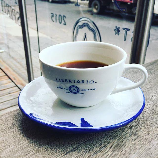 Best cup so far this trip, Geisha at Libertario 🌺🍊🍯