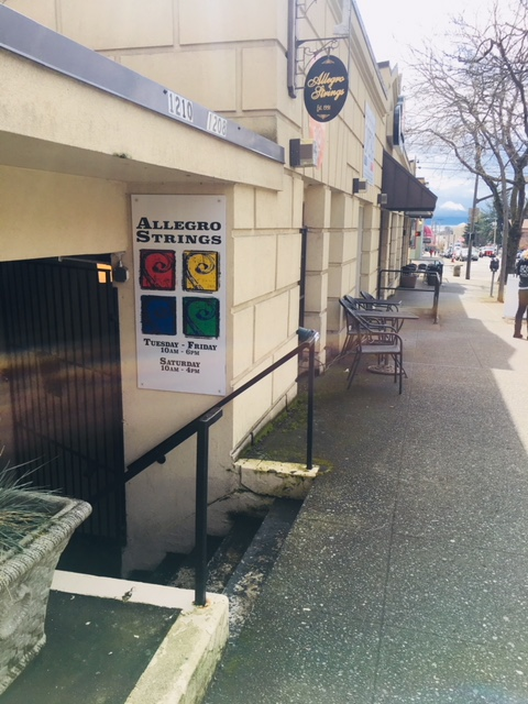 Allegro Strings Storefront