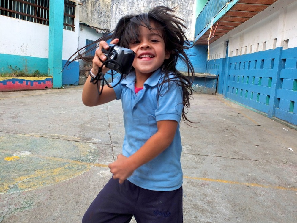 Photograph of Keysili Izarra Suarez by Asier Rojas, age seven, 2012.