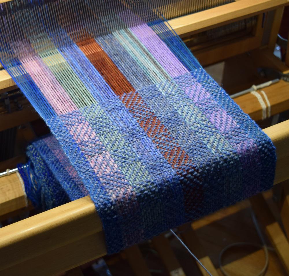 Weaving at Annadele Alpacas Farm