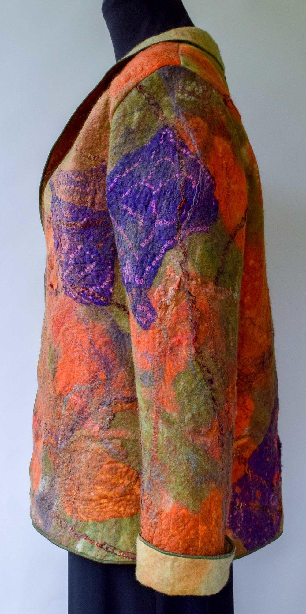 orange purple felted jacket side.jpg