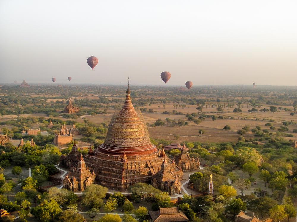 Bagan Hot Air Balloon - Myanmar Travel Specialists