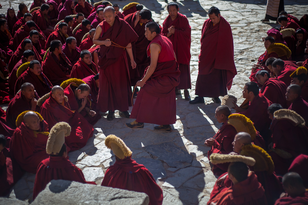 Tibetan Monks, Lhasa