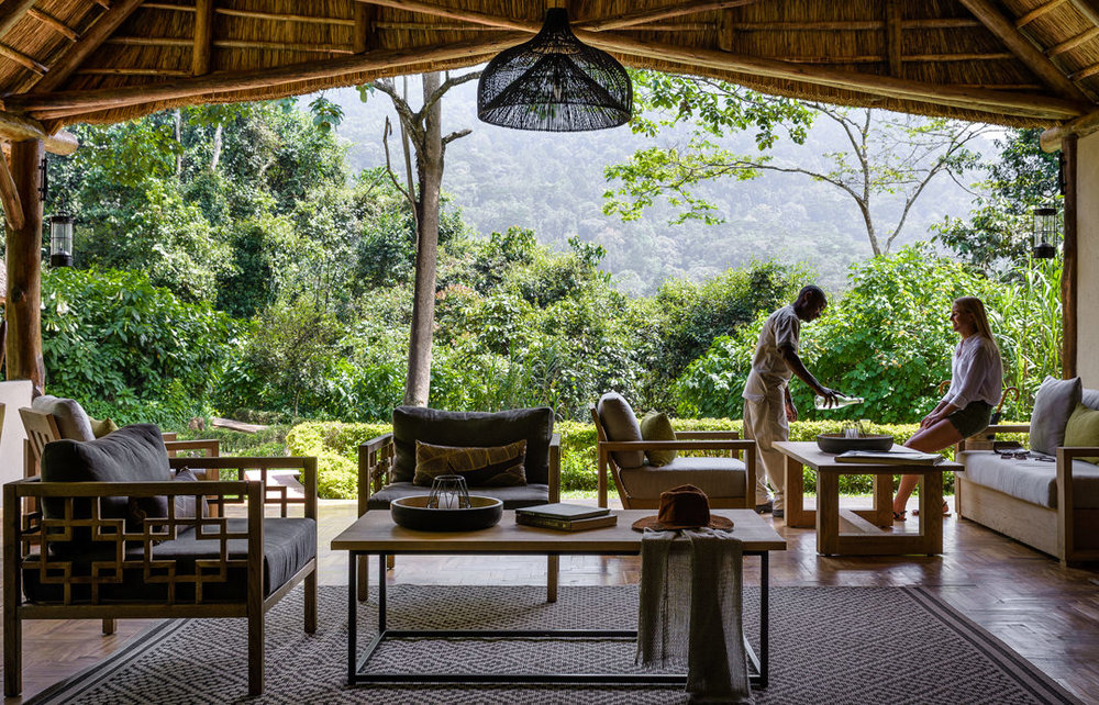 Gorilla Forest Camp, Bwindi, Uganda