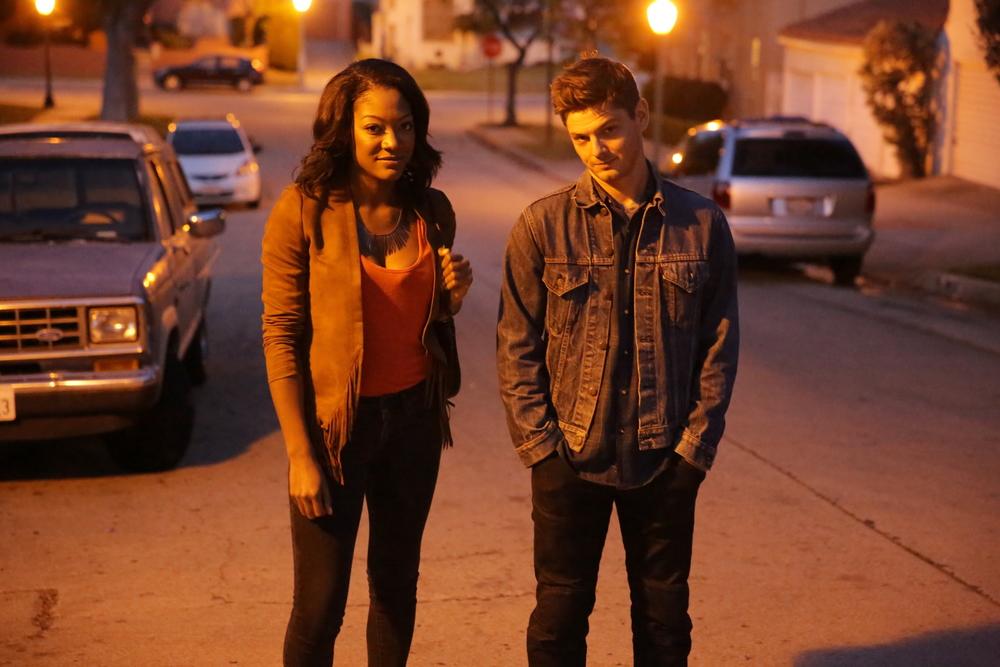 Aletha Shepherd (Erika) & Luke Loving (Noah)