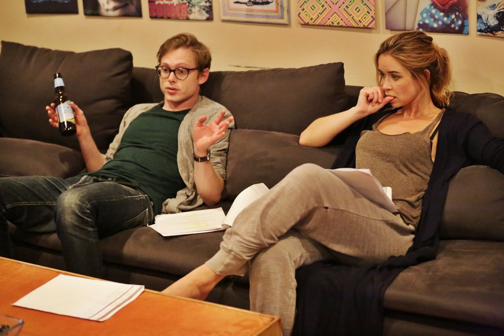 Joshua Brady (Chris), Jakki Jandrell (Hannah)