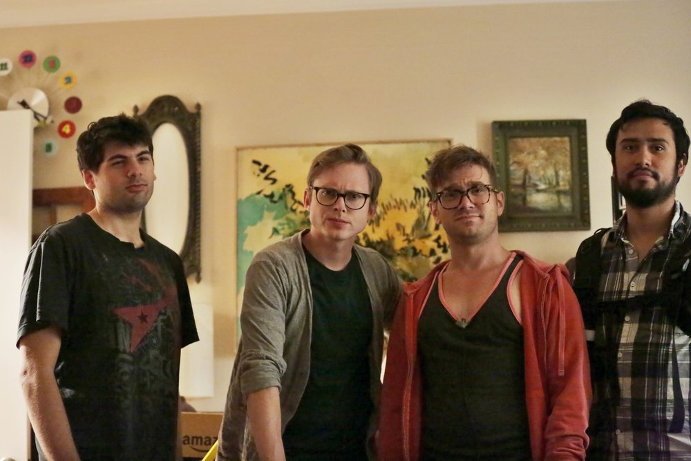 Brandon (Photographer), Joshua (Chris), Ericson (Brent), Jose (Sound)