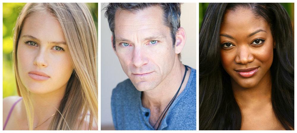 Decker Sadowski (Kaylee), Stephen Folds (Michael), Aletha Shepherd (Amanda)