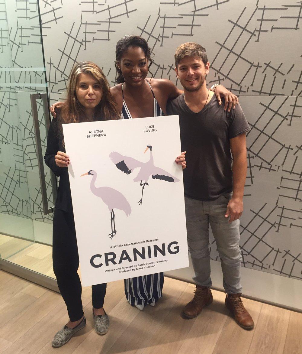 Elena Cristiean (Producer), Aletha Shepherd (Erika), Luke Loving (Noah)