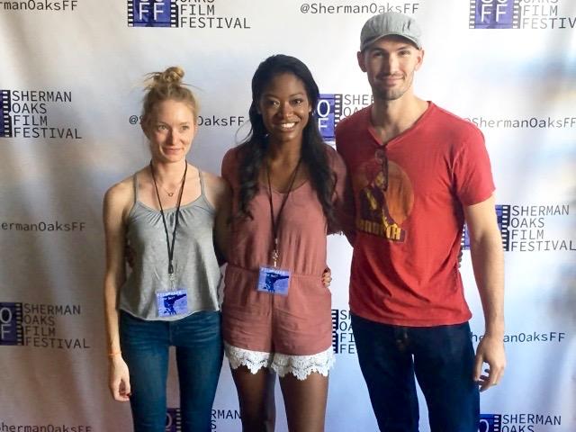 Charlotte Gleason (Director), Aletha Shepherd (Writer) & Luke Knezevic (DP & Editor)