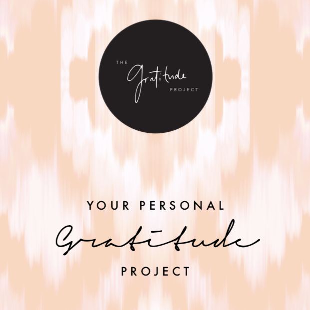Your Personal Gratitude Project