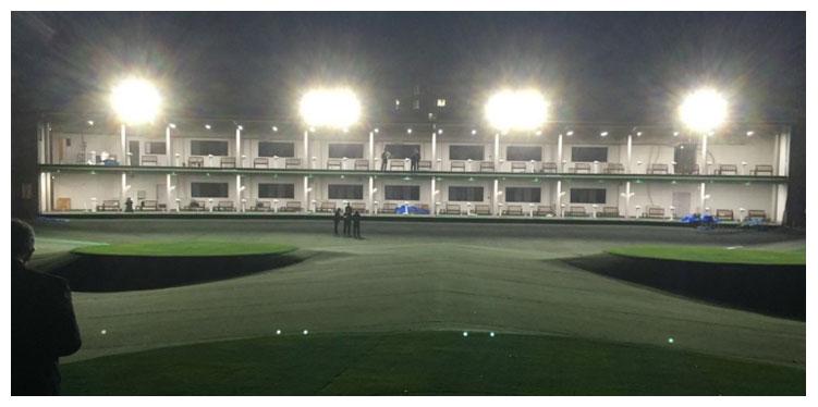 グローシックゴルフ倶楽部様にLED照明を納入しました