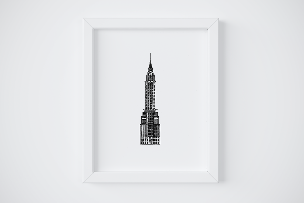8x10 31 Chrysler Building $14