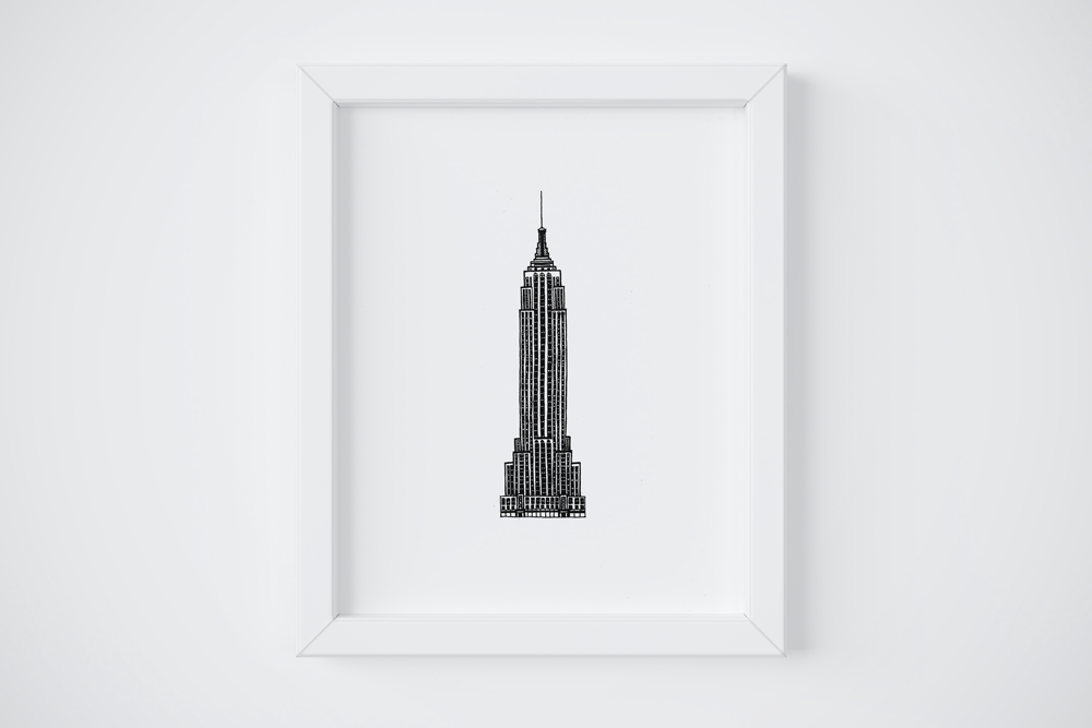 8x10 Empire State Building $14