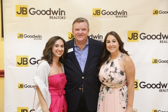 Gina and I with the man who started it all, Mr. JB Goodwin!