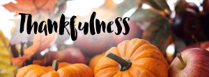 Thankfulness -  A guide to being thankful