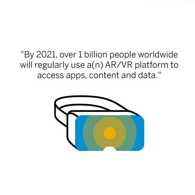 Well we're excited. Repost from @sap via @gartner_inc • • • #augmentedreality#virtualreality#vr#smartglasses#startup#innovation#future#technology#haptics#oculus