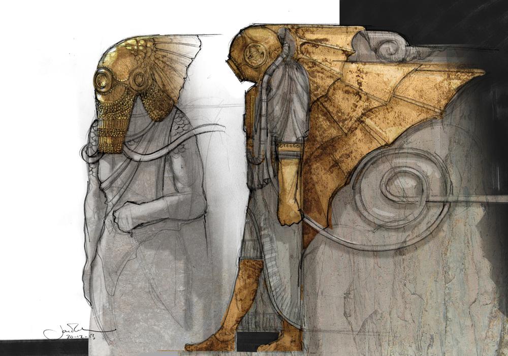 PoD Statues Concepts 01 StoneBronze A3.jpg
