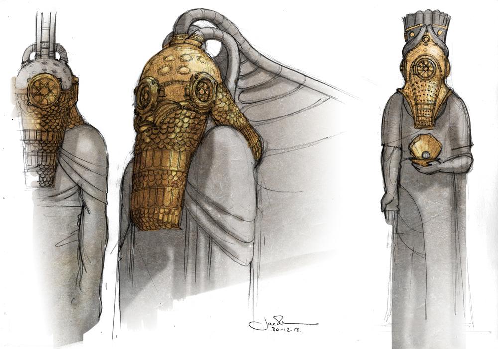 PoD Statues Concepts 02 StoneBronze A3.jpg