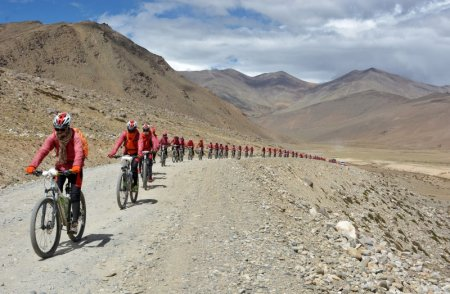 Business Insider - Kung fun nuns bike across Himalayas to raise awareness about human trafficking
