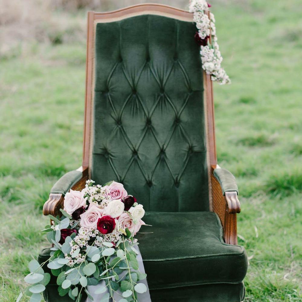 Lola Velvet Chair