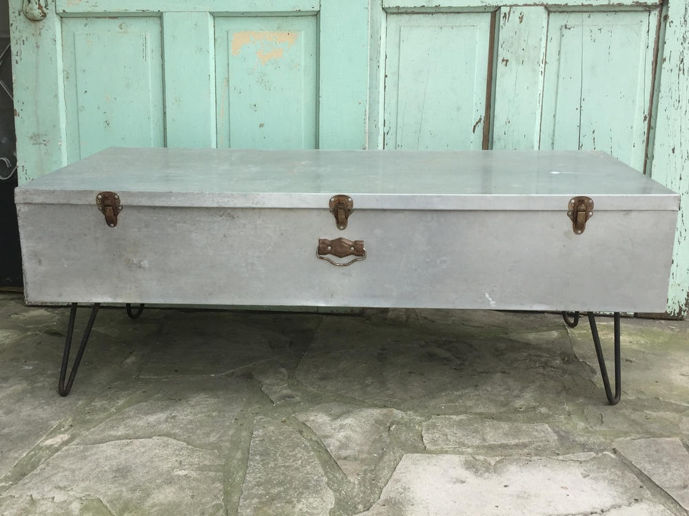 Aluminum Hairpin Coffee Table
