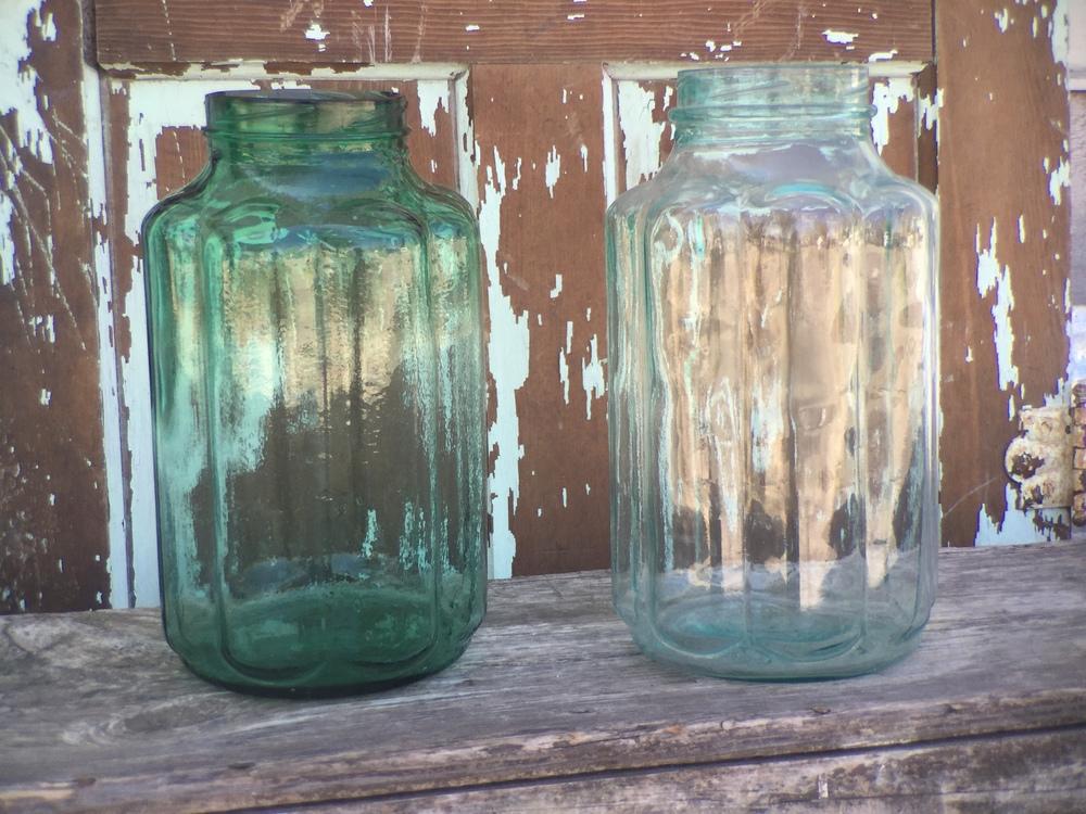 Ornate Oversize Jars