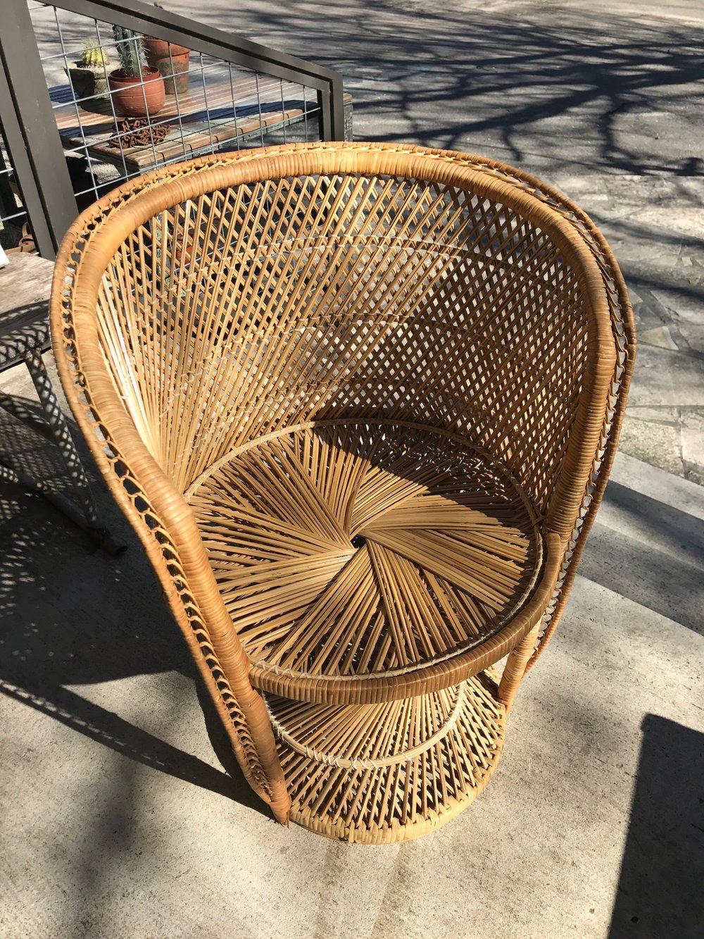 Wicker Chair No.1