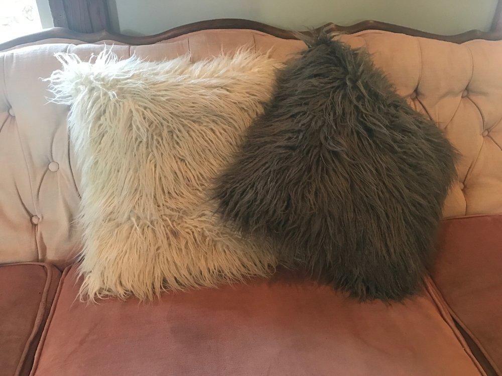 Flokati Pillows