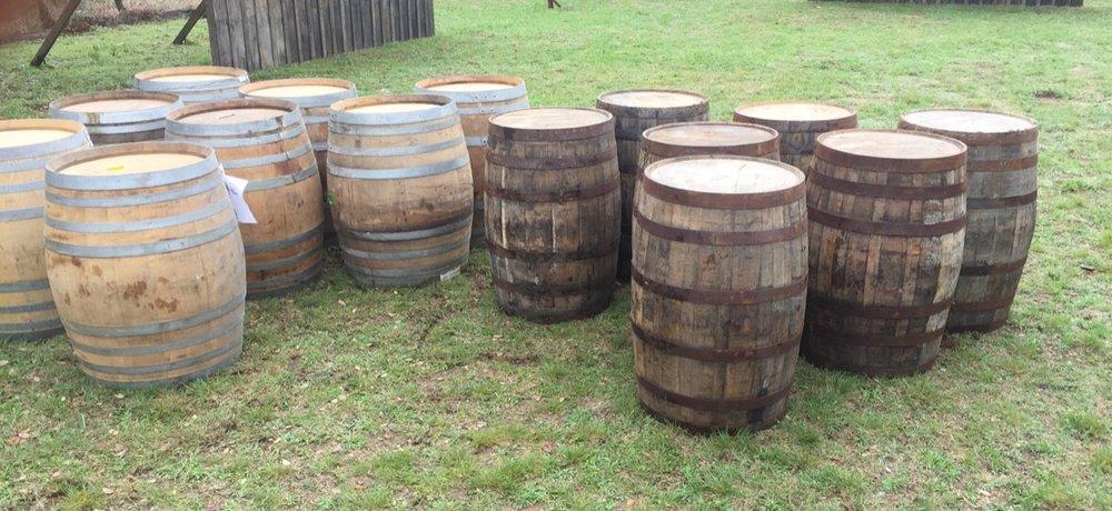 Wine & Bourbon Barrels