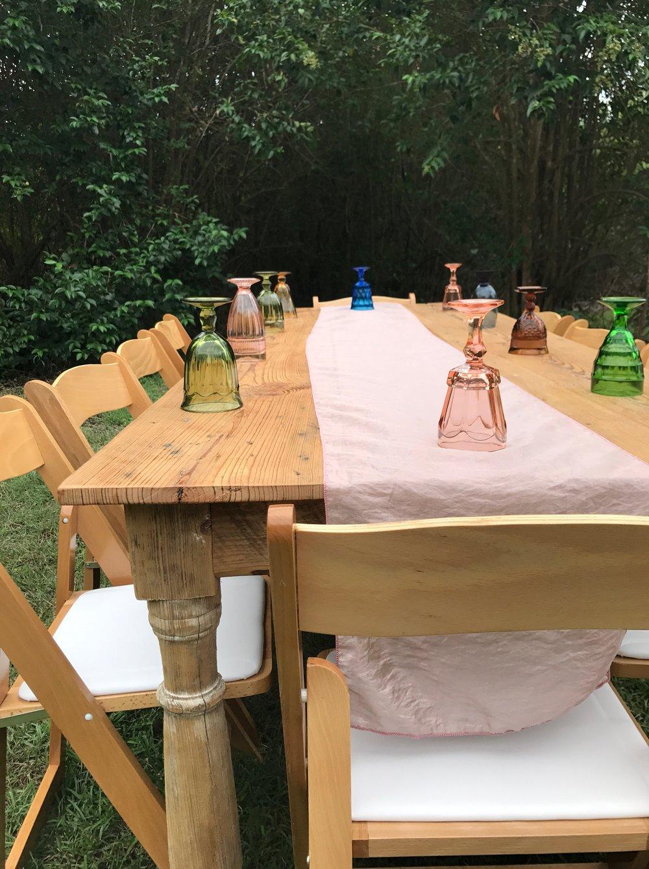 Salvage Farm Table