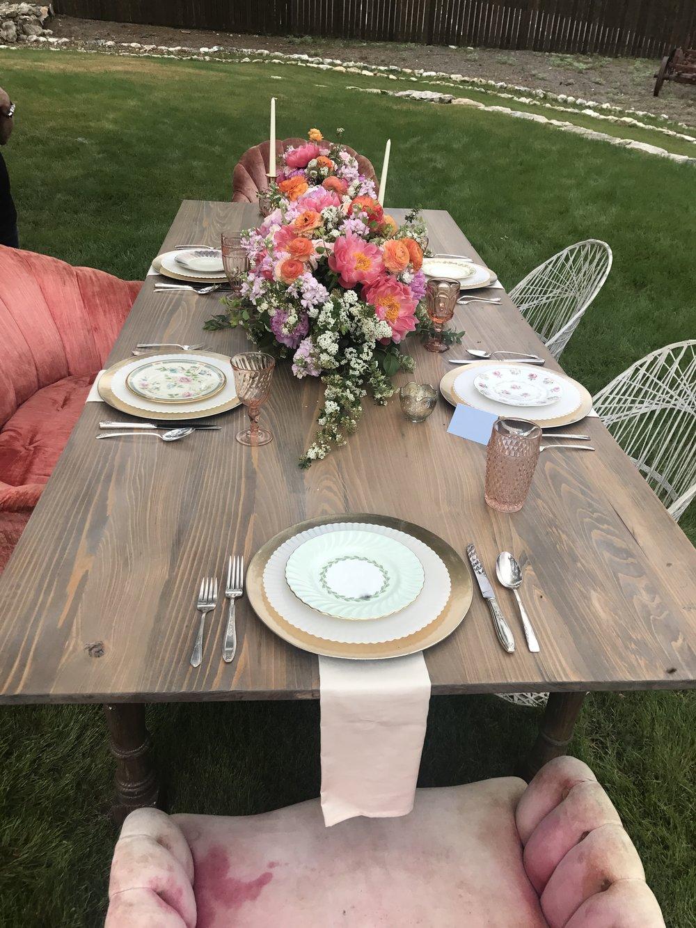 Grey Farm Table