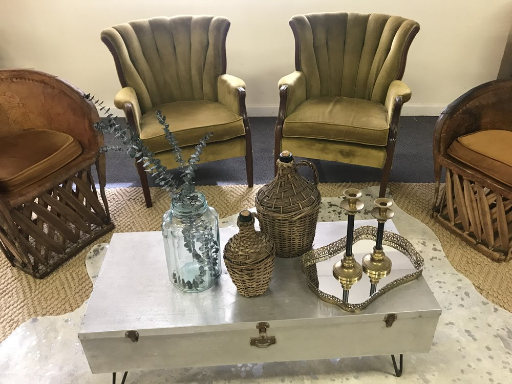 Olive Shellback Chairs