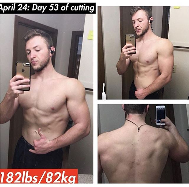 Big shoutout to my boy Austin @sj_brown11 for #TransformationTuesday this week! Swipe ➡️ . Austin reached out to us for advice with burning fat and leaning out for the summer months. As you can see, he'd already made some impressive changes to his physique and was ready to take things to the next level. . Austin paired our fat loss advice with his own hard work, and the results speak for themselves.  Shoulders are popping, back is striated, and the abs are coming out of winter hibernation 😏. . The most amazing part of Austin's transformation so far? His strength went UP 📈, even though he lost weight on the scale. It's safe to say the lost lbs are fat loss. . Austin achieved all of this with a balanced diet, consistent training, and a planned strategy. No cutting corners, no magic pills, no crash diets...just hard ass work. This is what real results look like. . Getting those real results is tough, I know. If you're struggling, you may just need a few fine tuned adjustments to your workouts & nutrition. We'd be happy to help, hit us up! 📥 . Awesome job brother and we're looking forward to seeing the gainz continue as you cut deeper into the summer. You'll be our inspiration this week! 💪🏼 . #Transform #YagerFitness _______________________________________________ #Fit #Fitness #Bodybuilding #Fitfam #physique #zyzz #bodybuildingmotivation #workout #fitnessmotivation #gymlife #bodybuilder #lean #fitspo #getinspired #getfitordietrying #fitgoals #neversatisfied #liftingweights #instafit #gymlife #fitnessaddict #gains #fitspiration #getfit #dedication #cleaneating  #nopainnogain