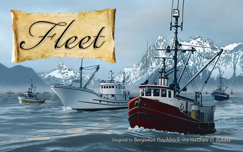 Donate By: Eagle Gryphon Games - A remote, timeless bayside village is now being inundated by entrepreneurs awaiting the influx of the world's greatest fisherman to harvest the plentiful bounty.Auction/Bidding, Hand Management30 - 45 minutes, 2 - 4 players, ages 10+