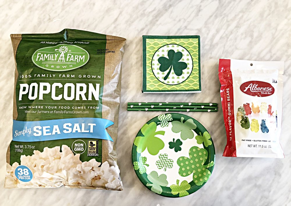 Click ON the items below for more info:    Family Farm Popcorn  ||  Paper Goods  ||  Gummy Bears