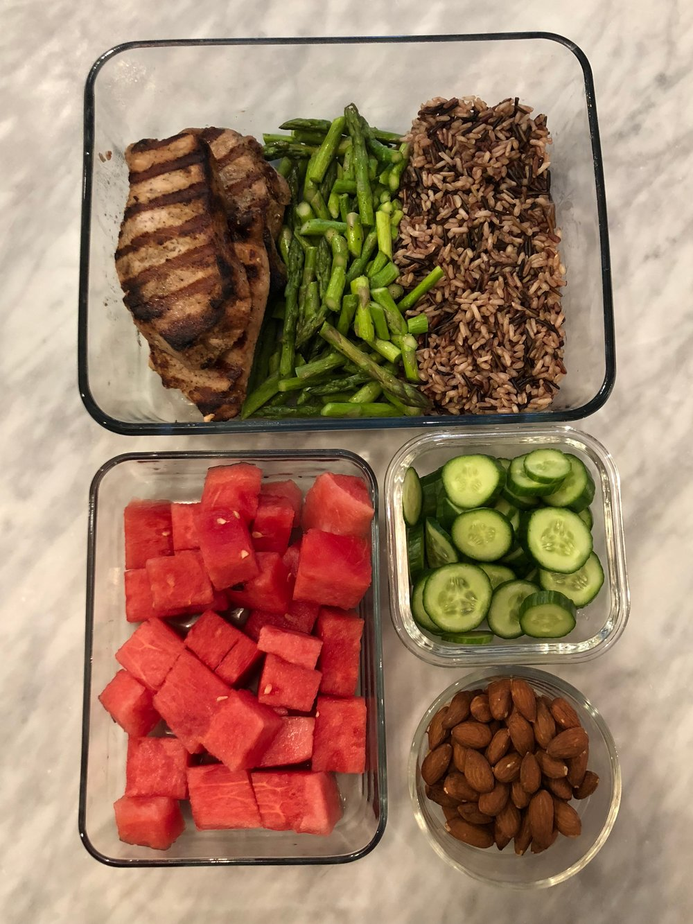 Lunch+ - Grill your proteins, and build up your body not tear it down.