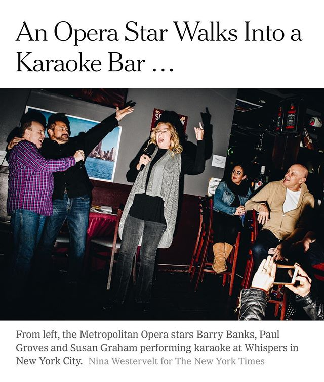 We approve, @nytimes. They may sing Bohemian Rhapsody.