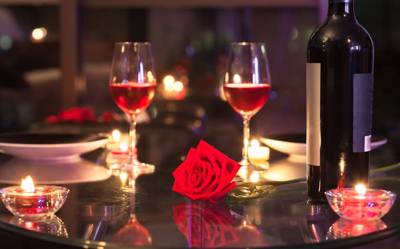valentine's paired dinner — m6 winery, Ideas