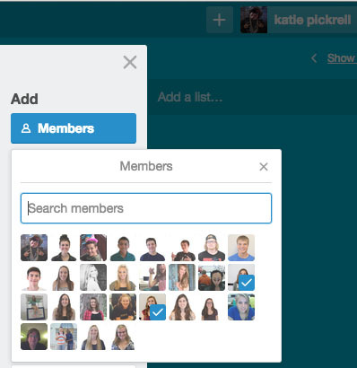 Trello makes direct communication easy. When a card is placed on a board, an individual staff members can be added. They'll then be notified via Trello and email if any comments are made on a card.