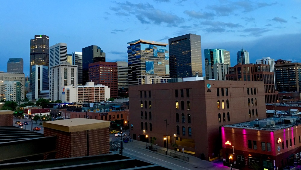 Denver from Coors Field