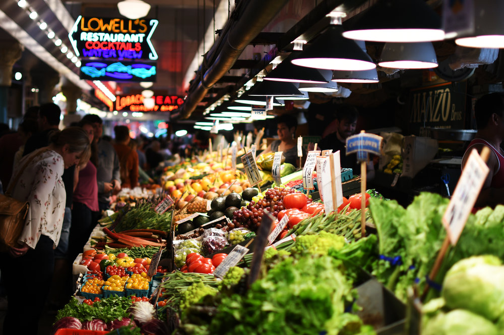 Pike Place Market; Seattle, Washington