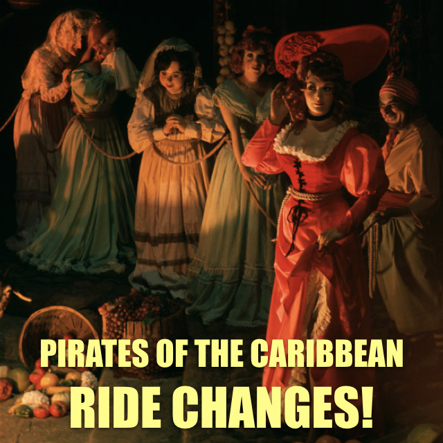 Pirates of the Caribbean - Ride Changes - But WHY?!?! [YouTube Video]