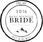 Print - Rocky Mountain Bride Magazine Colorado Fall & Winter 2016